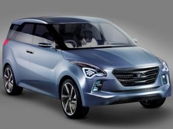 Hyundai представил концепт-кар нового компактвэна - Hyundai