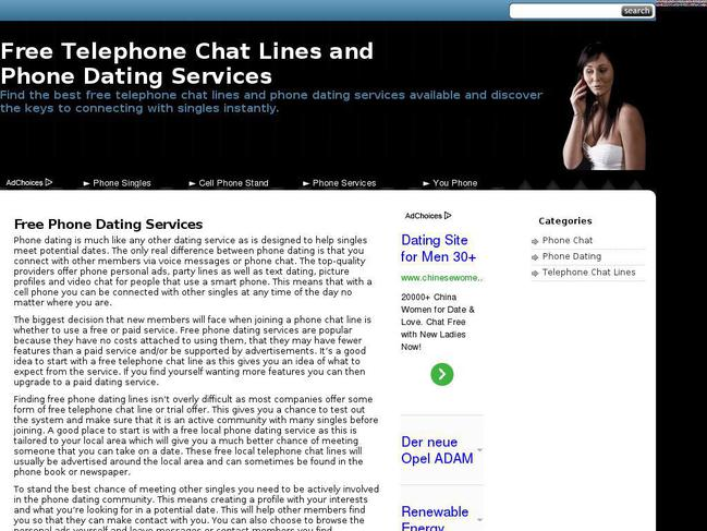 Free Trial Chat Line Numbers for 2018 - LiveChatLounge