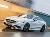 Mercedes-Benz S63 AMG Coupe. Фото Mersedes-Benz