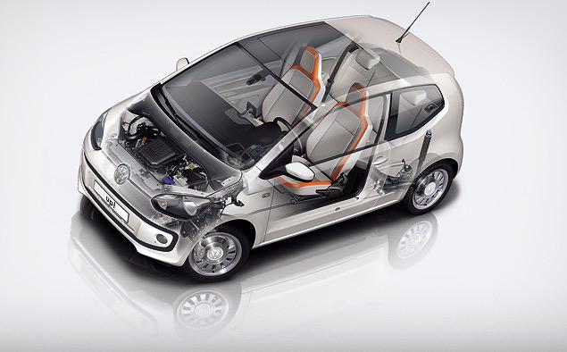 VW up! построен на новой