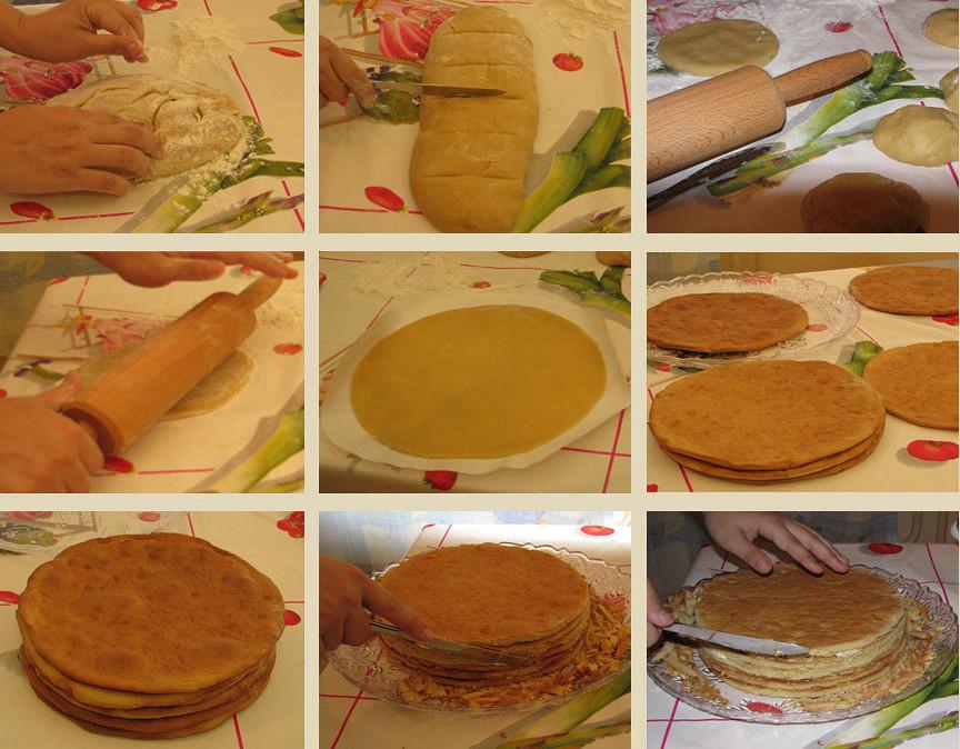 Как приготовить торт медовик в домашних условиях пошагово с