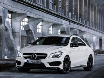 Mercedes-Benz CLA. Фото Mercedes-Benz