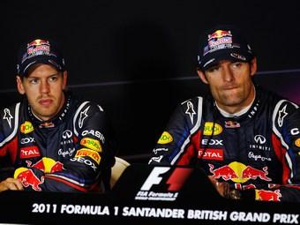 Себастьян Феттель и Марк Уэббер. Фото Red Bull