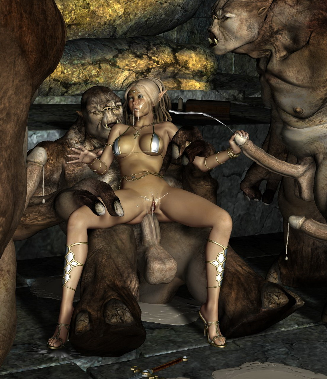 3d elf sex monster nsfw videos