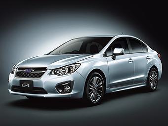Серийный седан Subaru Impreza. Фото Subaru