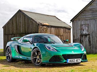 Lotus Exige S. Фото Lotus
