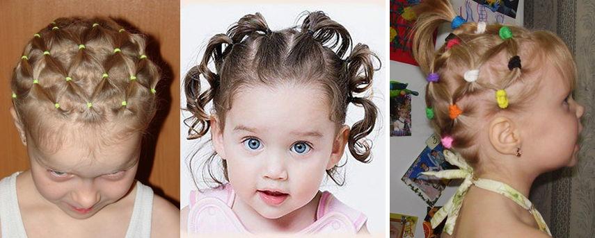 Прически на короткие волосы для девочек на каждый день своими руками