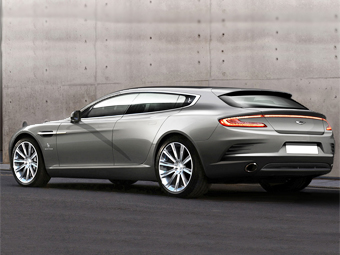 Aston Martin Rapide Shooting Brake. Фото с сайта autocar.co.uk