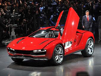 Ателье Giugiaro вновь поразило мир необычным кроссовером-спорткаром - Giugiaro