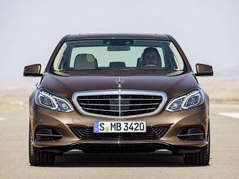 Обновленный Mercedes-Benz E-Class. Фото Mercedes-Benz