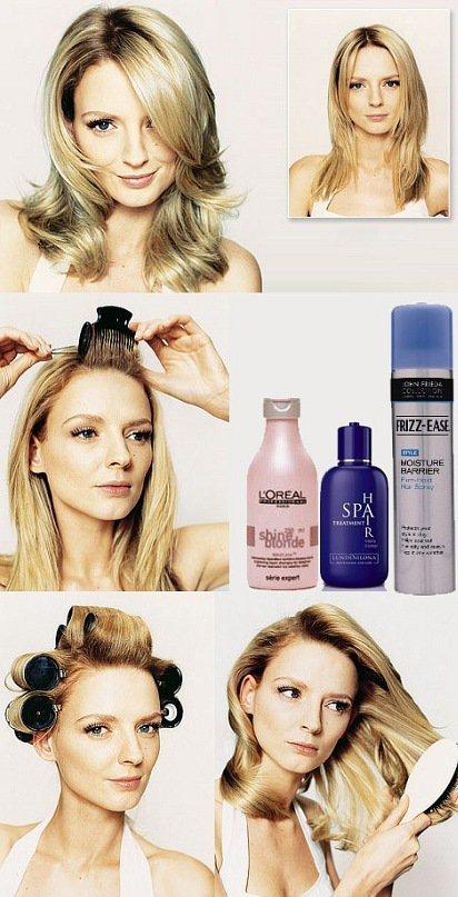 Прически и укладки каскада для средних волос