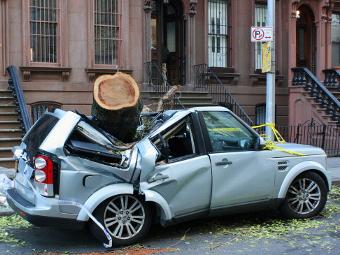 """От урагана """"Сэнди"""" в США пострадало 250 тыс. автомобилей"""