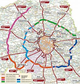 Сроки строительства Центральной кольцевой автомобильной дороги (ЦКАД), которая позволит пустить потоки транзитного...