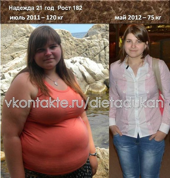 Как я похудела на диете дюкана