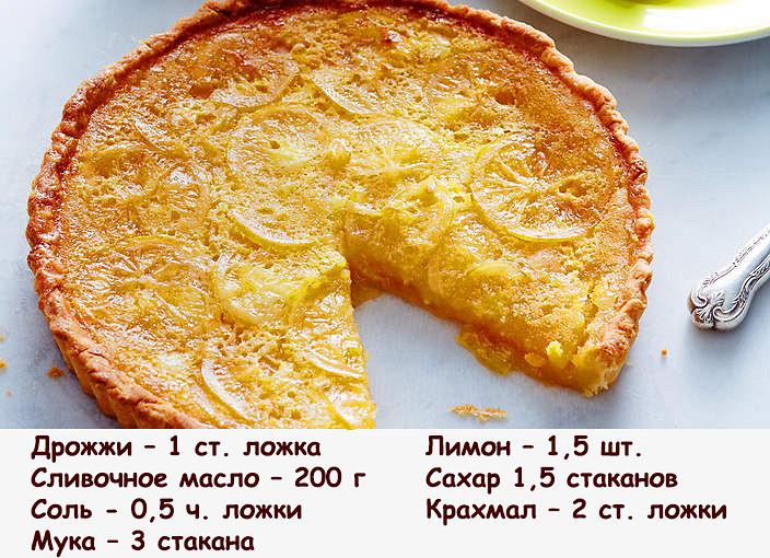 Пирог без дрожжей рецепт с