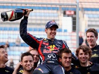Себастьян Феттель. Фото Red Bull