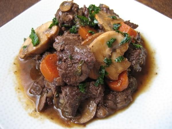 Жаркое из говядины с грибами и картошкой рецепт с пошагово