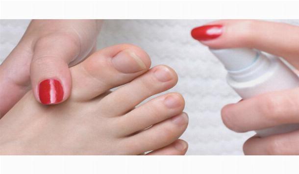 Поражение ногтей ног