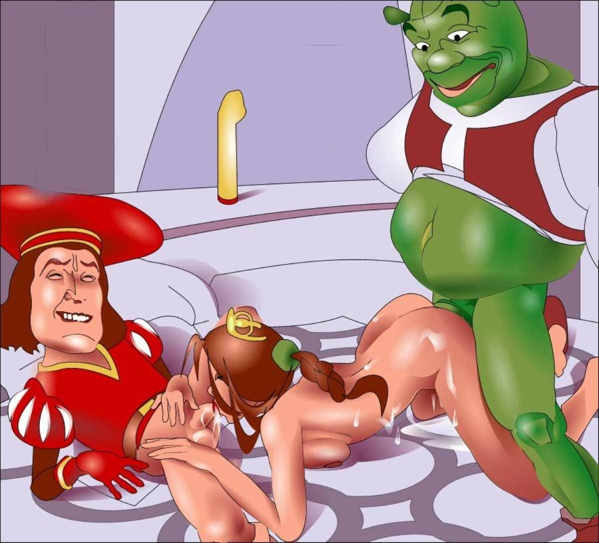 Foto cartoons shrek xxx sex images