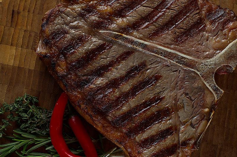 Ресторан Мясной клуб - фотография 14 - Стейк Портерхаус