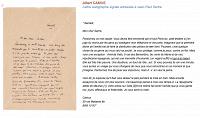 Опубликовано последнее письмо из переписки Камю с Сартром