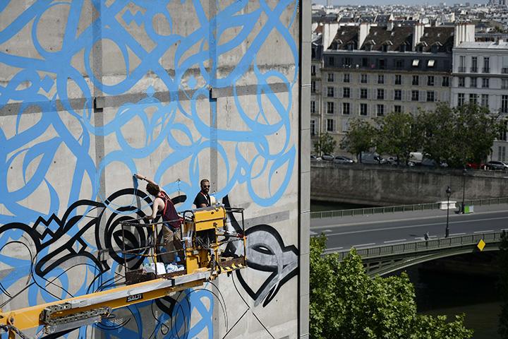 Каллиграффити Эль Сида можно увидеть как в галереях Парижа и Берлина, так и на мечети у него на родине — в Тунисе