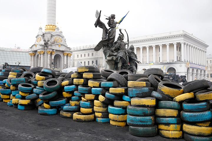 Майдан как новый главный герой драматургов Фотография: ИТАР-ТАСС