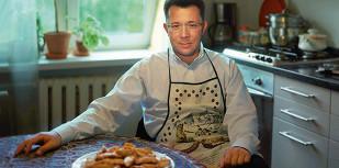 Пирожки сгрибами семьи Гинзбург