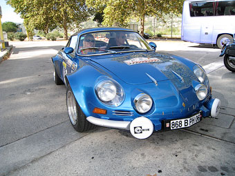 "Renault Alpine A110 ""Berlinette"". Фото с сайта wikipedia.org"