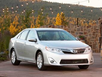 Toyota уже в апреле представит рестайлинговую Camry - Toyota