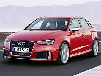 Audi RS3 ������� ����� � 367 �.�.