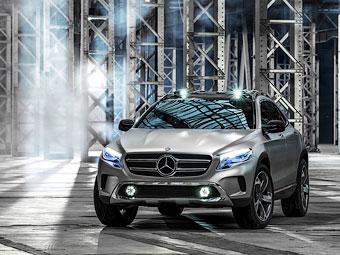 Кроссовер Mercedes-Benz GLA оснастят фарами с лазерными проекторами - Mercedes-Benz