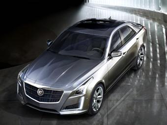 Cadillac CTS нового поколения. Фото Cadillac