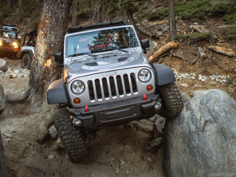 Jeep Wrangler Rubicon. Фото Jeep