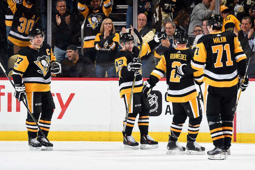 «Питтсбург» оказался сильнее «Эдминтона» вматче НХЛ