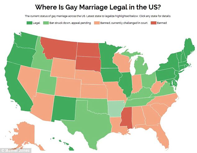 Date gay marriage legalized in us