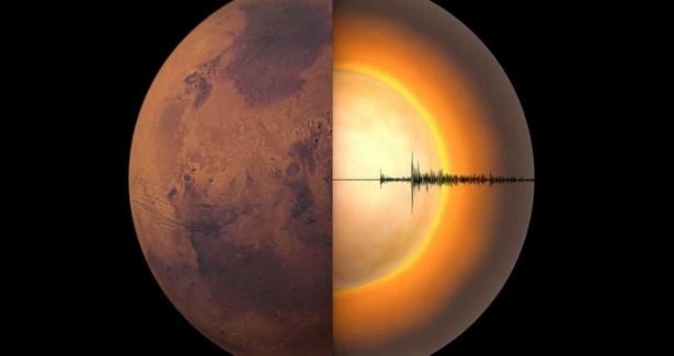 Астрономы впервые заглянули внутрь Марса