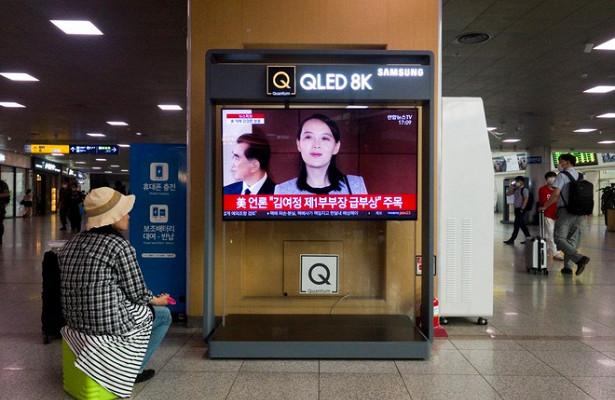 Сестра КимЧенЫнаоскорбила военных Южной Кореи