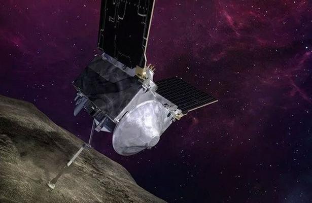 Зонд NASA OSIRIS-RExсмог спасти образцы Бенну