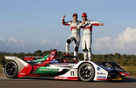 Готов ктруду иобороне: Audi представила e-tron FE05 длянового сезона Formula E