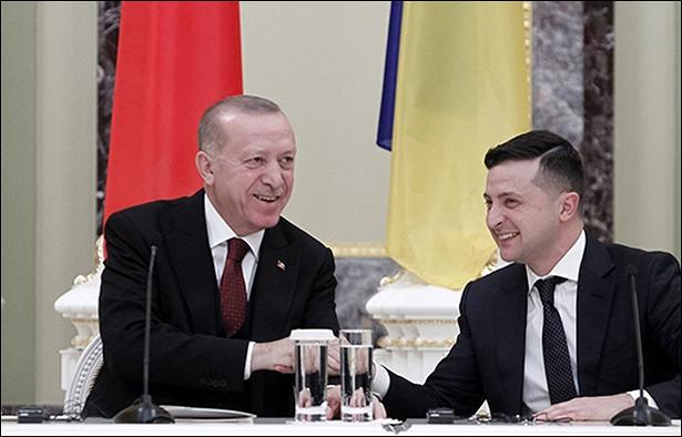 Зеленский вербует Эрдогана напротивостояние сРоссией