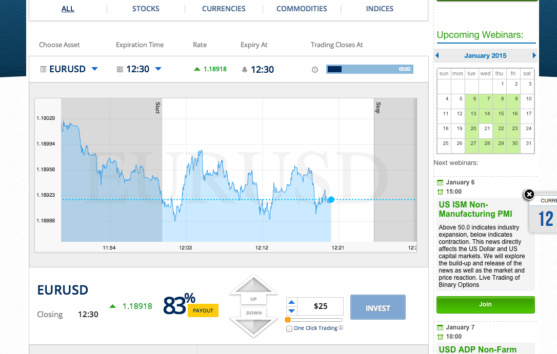 Introduction video how to trade binary options