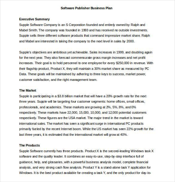 Restaurant Business Plan - Executive summary, The
