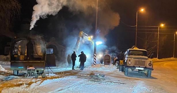 ВПудоже 166домов, больница исады минувшей ночью оставались безводоснабжения