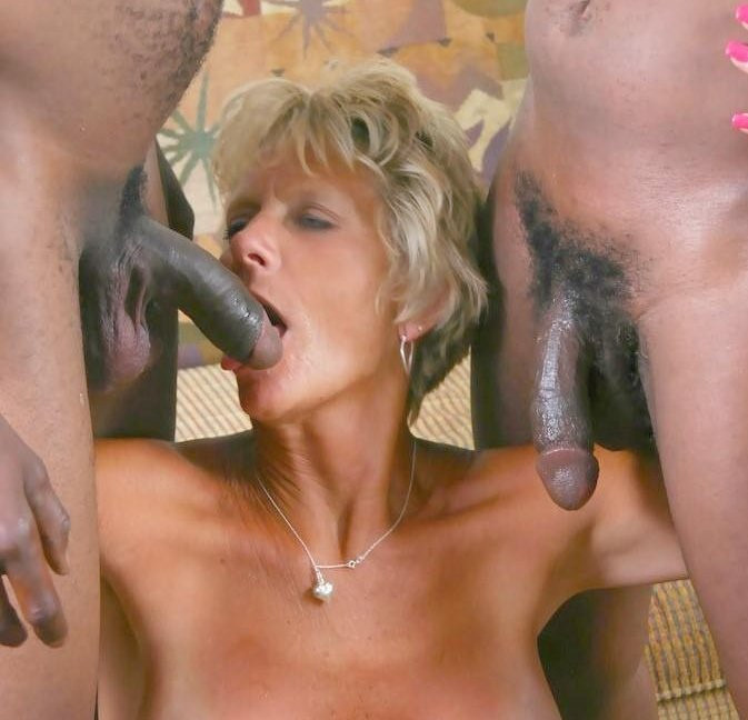 Sexy mature woman in uniform tube