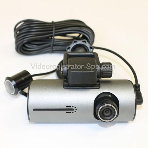 Видеорегистратор с двумя камерами dvr