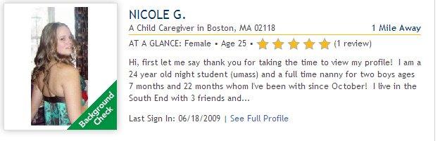 Dating profile description female