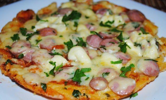 Пицца домашняя быстрый рецепт