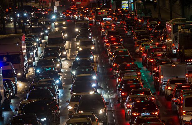 Пробки вМоскве достигли 10баллов