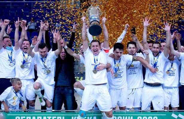 «Норильский никель», несмотря напоражение, выиграл Кубок России помини-футболу